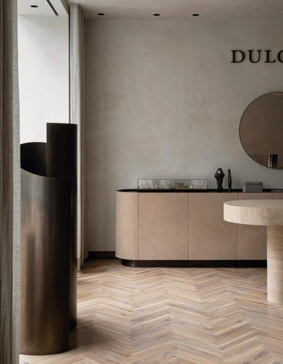 tienda minimalista dulong joyería store norm architects