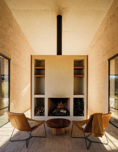 casa de campo minimalista aculco perez palacios arquitectos asociados