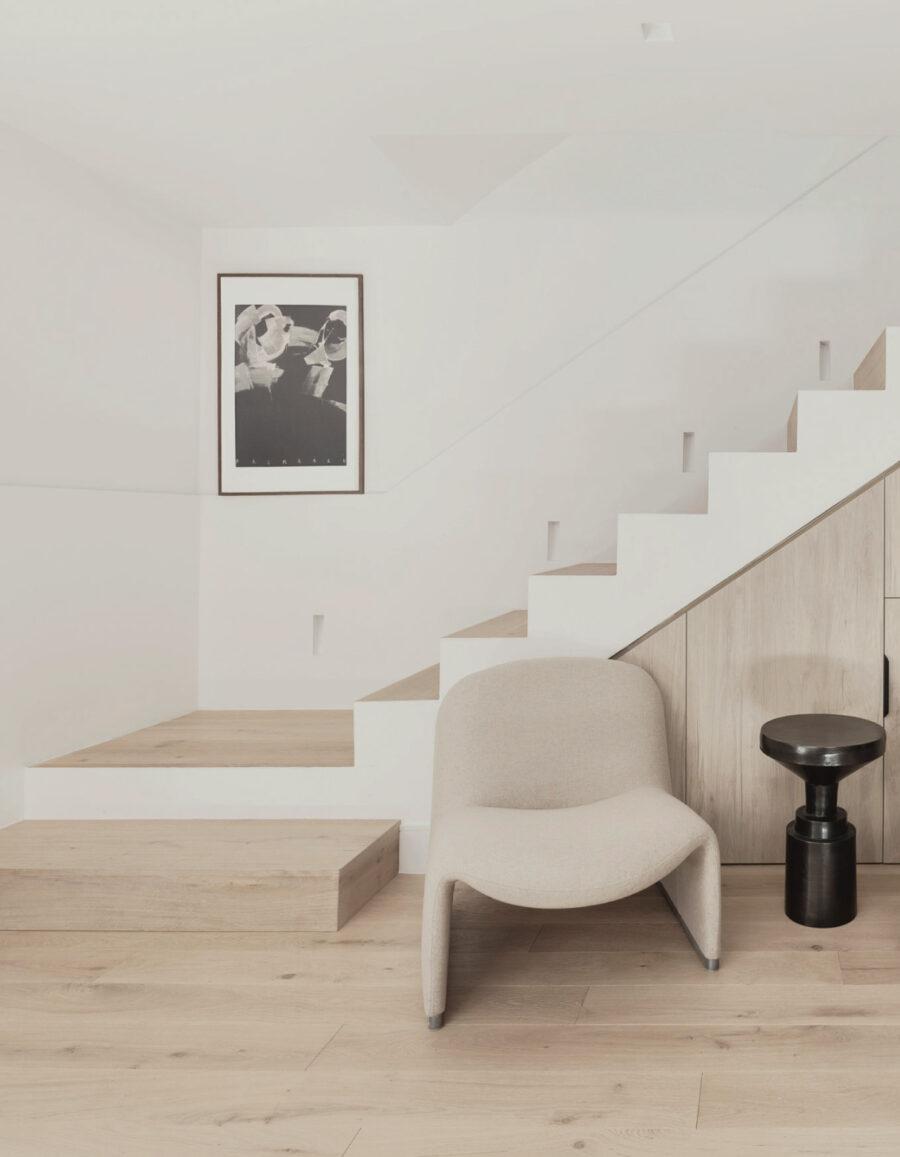 casa minimalista apartamento en sótano lucia Buiza interiors venustas