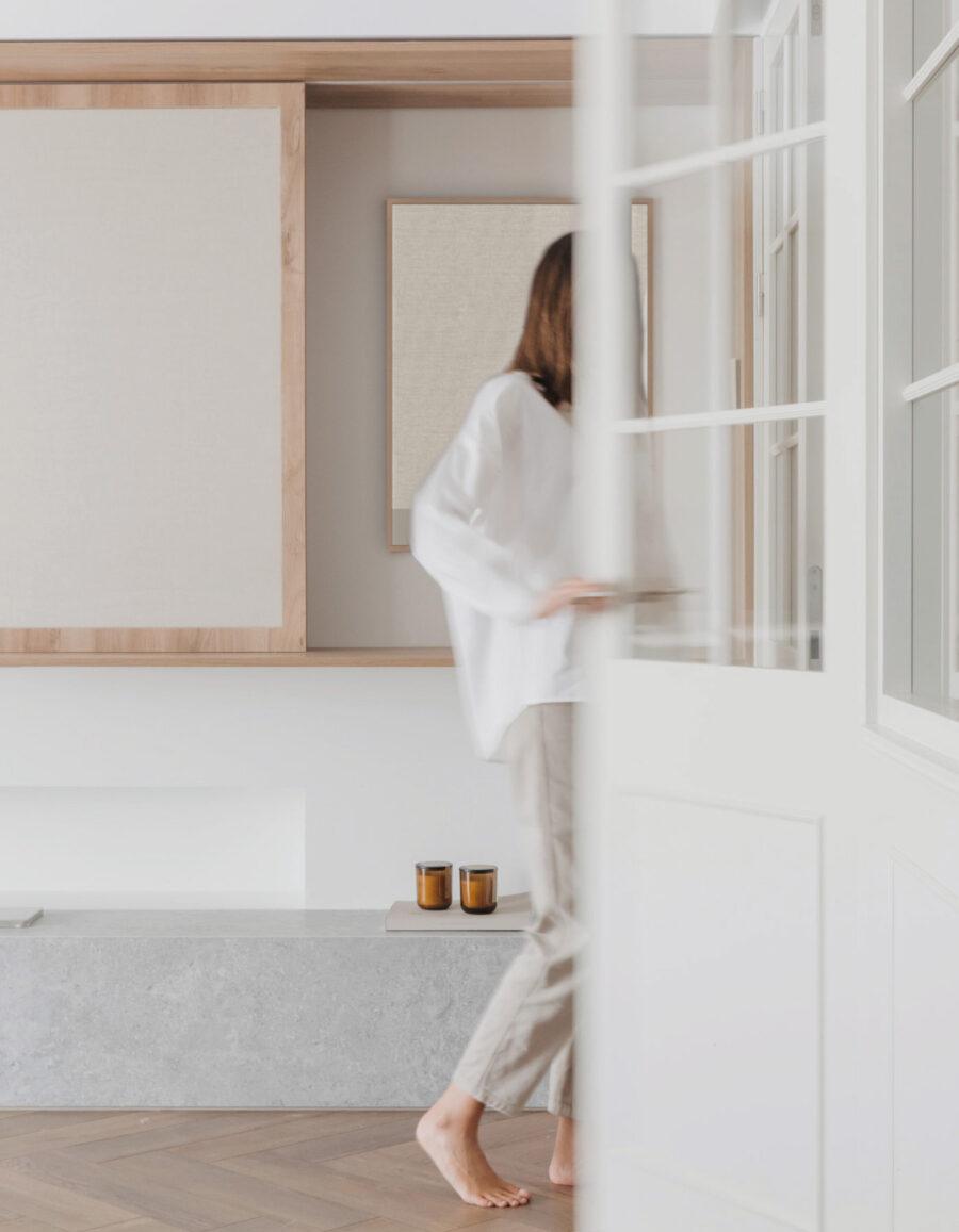 casa minimalista casa del lienzo estudio en hebra vetustas