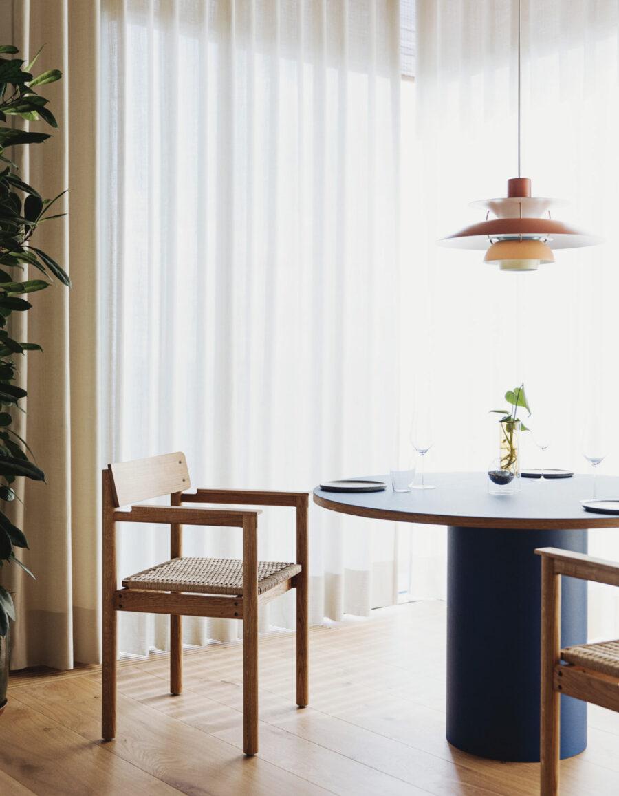Restaurante minimalista Substans Krøyer & Gatten Venustas