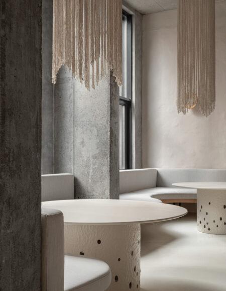 restaurante minimalista istetyka yakusha design faina venusta