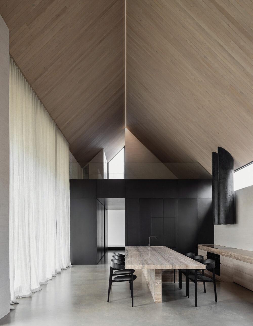 casa minimalista barwon heads house adam kane architects venustas