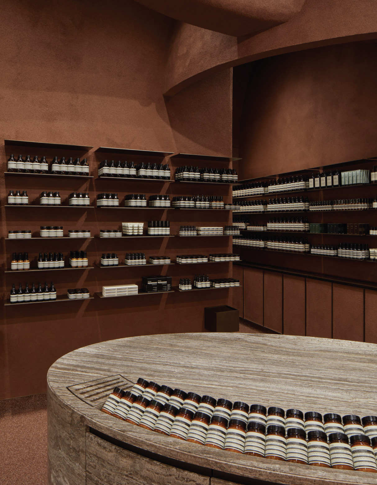 tienda minimalista aesop mall of the emirates dubai venustas
