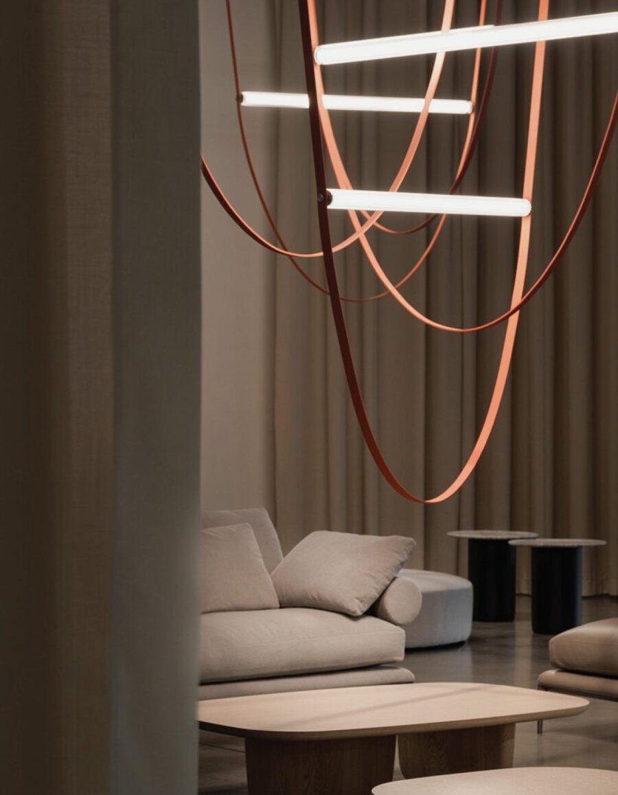 lampara minimalista wireline flos formafantasma venustas