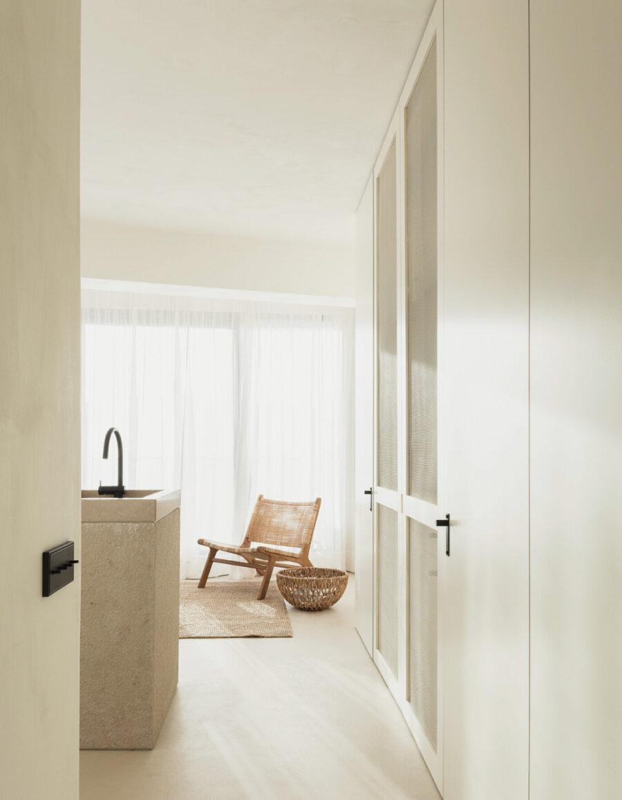 casa minimalista zoute apartment belgica tjip